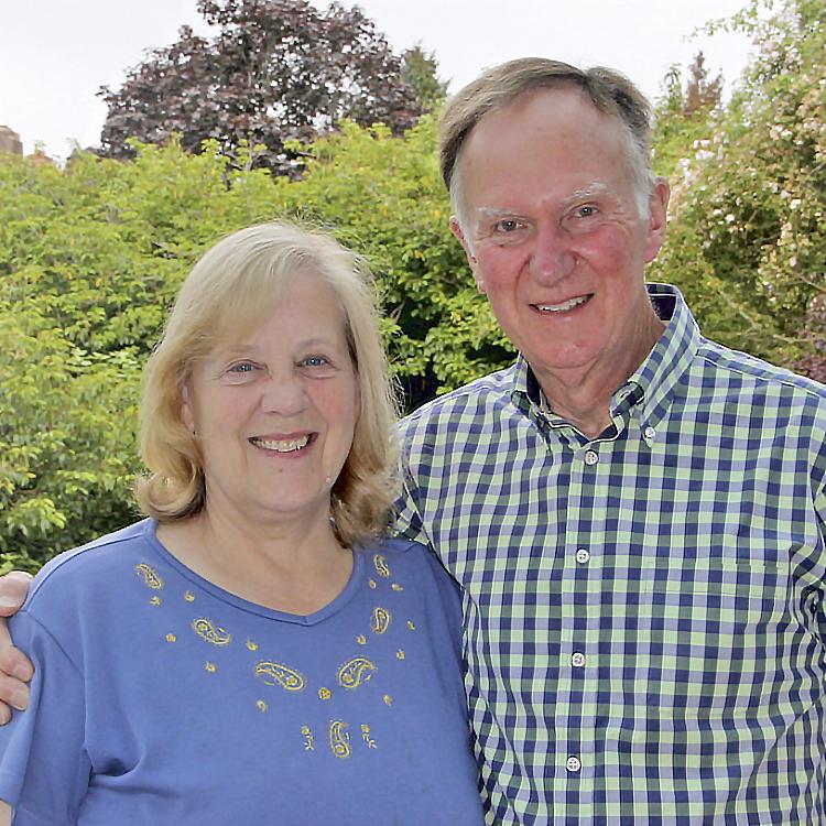 Ann and Mike Wheeler photo