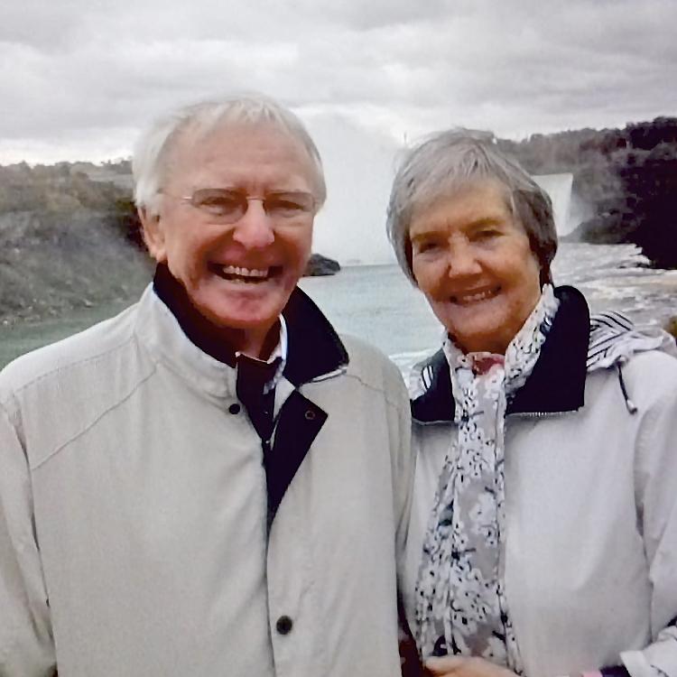 Graham and Val Thomson photo