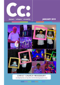 january 2019 edition of Cc: magazine
