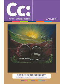 April 2019 edition of Cc: magazine